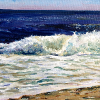 12 0f 99 - oil ocean study by Eric Soller