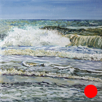1 0f 99 - oil ocean study by Eric Soller