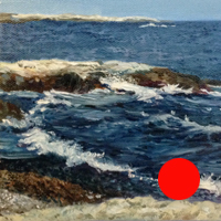 3 0f 99 - oil ocean study by Eric Soller