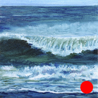 7 0f 99 - oil ocean study by Eric Soller