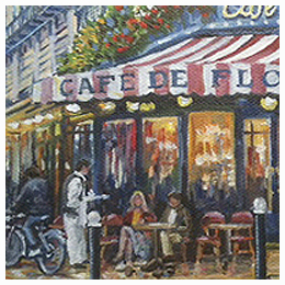 Favorite Places - Original oil painting by Eric Soller