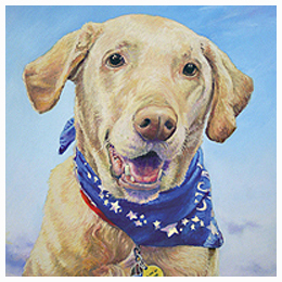 Pet Portraits - Original oil painting by Eric Soller
