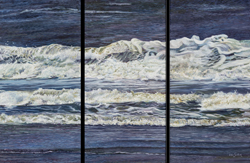Rollers, Canvas Print Triptych